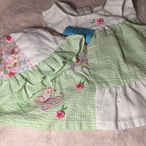 Babygirl dress and hat